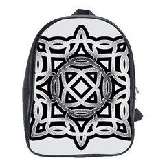 Celtic Draw Drawing Hand Draw School Bags(large)