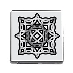 Celtic Draw Drawing Hand Draw Memory Card Reader (square)