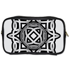 Celtic Draw Drawing Hand Draw Toiletries Bags