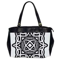 Celtic Draw Drawing Hand Draw Office Handbags (2 Sides)