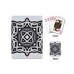 Celtic Draw Drawing Hand Draw Playing Cards (mini)
