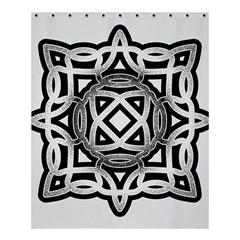 Celtic Draw Drawing Hand Draw Shower Curtain 60  X 72  (medium)