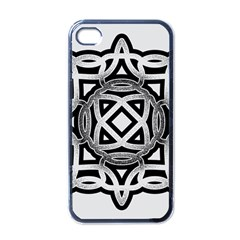 Celtic Draw Drawing Hand Draw Apple Iphone 4 Case (black)