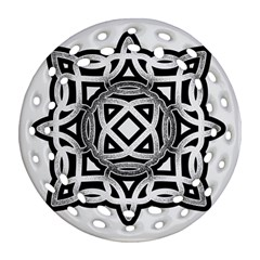 Celtic Draw Drawing Hand Draw Ornament (Round Filigree)