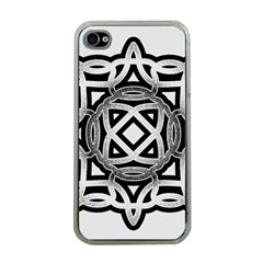 Celtic Draw Drawing Hand Draw Apple Iphone 4 Case (clear)