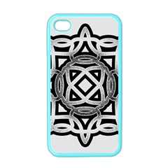 Celtic Draw Drawing Hand Draw Apple Iphone 4 Case (color)