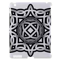 Celtic Draw Drawing Hand Draw Apple iPad 3/4 Hardshell Case (Compatible with Smart Cover)