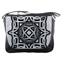Celtic Draw Drawing Hand Draw Messenger Bags