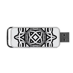 Celtic Draw Drawing Hand Draw Portable USB Flash (One Side)