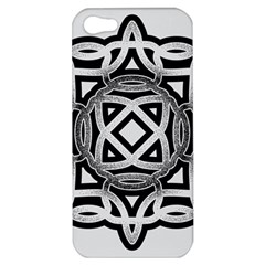Celtic Draw Drawing Hand Draw Apple Iphone 5 Hardshell Case