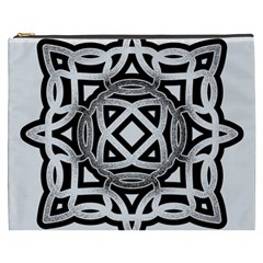 Celtic Draw Drawing Hand Draw Cosmetic Bag (XXXL)