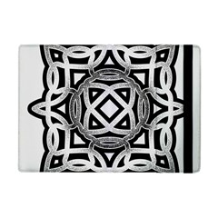 Celtic Draw Drawing Hand Draw Apple iPad Mini Flip Case
