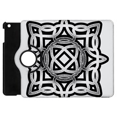 Celtic Draw Drawing Hand Draw Apple iPad Mini Flip 360 Case