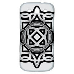 Celtic Draw Drawing Hand Draw Samsung Galaxy S3 S Iii Classic Hardshell Back Case