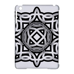 Celtic Draw Drawing Hand Draw Apple iPad Mini Hardshell Case (Compatible with Smart Cover)