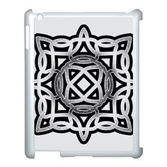Celtic Draw Drawing Hand Draw Apple Ipad 3/4 Case (white)