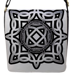 Celtic Draw Drawing Hand Draw Flap Messenger Bag (S)