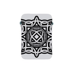 Celtic Draw Drawing Hand Draw Apple Ipad Mini Protective Soft Cases