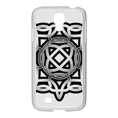 Celtic Draw Drawing Hand Draw Samsung GALAXY S4 I9500/ I9505 Case (White)
