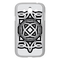 Celtic Draw Drawing Hand Draw Samsung Galaxy Grand DUOS I9082 Case (White)