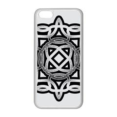 Celtic Draw Drawing Hand Draw Apple Iphone 5c Seamless Case (white)