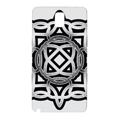 Celtic Draw Drawing Hand Draw Samsung Galaxy Note 3 N9005 Hardshell Back Case