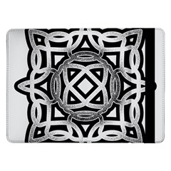 Celtic Draw Drawing Hand Draw Samsung Galaxy Tab Pro 12.2  Flip Case