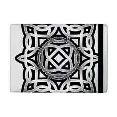 Celtic Draw Drawing Hand Draw Ipad Mini 2 Flip Cases