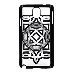 Celtic Draw Drawing Hand Draw Samsung Galaxy Note 3 Neo Hardshell Case (Black)