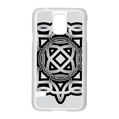 Celtic Draw Drawing Hand Draw Samsung Galaxy S5 Case (white)