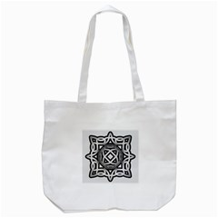 Celtic Draw Drawing Hand Draw Tote Bag (White)