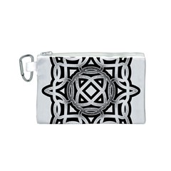 Celtic Draw Drawing Hand Draw Canvas Cosmetic Bag (S)