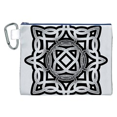 Celtic Draw Drawing Hand Draw Canvas Cosmetic Bag (xxl)