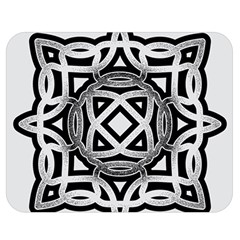 Celtic Draw Drawing Hand Draw Double Sided Flano Blanket (medium)