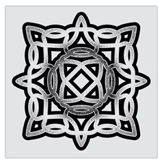 Celtic Draw Drawing Hand Draw Large Satin Scarf (square)
