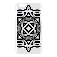 Celtic Draw Drawing Hand Draw Apple Seamless iPhone 6 Plus/6S Plus Case (Transparent)