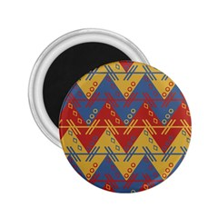 Aztec traditional ethnic pattern 2.25  Magnets