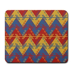 Aztec Traditional Ethnic Pattern Large Mousepads
