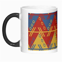 Aztec traditional ethnic pattern Morph Mugs