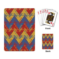 Aztec Traditional Ethnic Pattern Playing Card