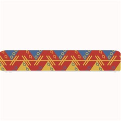 Aztec traditional ethnic pattern Small Bar Mats