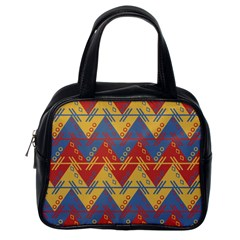 Aztec traditional ethnic pattern Classic Handbags (One Side)