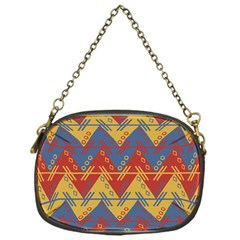 Aztec traditional ethnic pattern Chain Purses (One Side)
