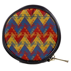Aztec traditional ethnic pattern Mini Makeup Bags