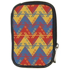Aztec Traditional Ethnic Pattern Compact Camera Cases