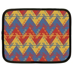 Aztec Traditional Ethnic Pattern Netbook Case (xl)
