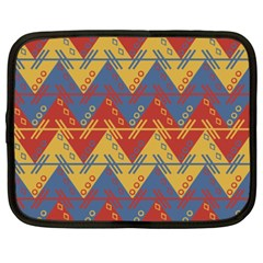 Aztec Traditional Ethnic Pattern Netbook Case (xxl)