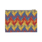 Aztec traditional ethnic pattern Cosmetic Bag (Large)  Back