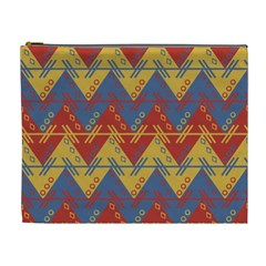 Aztec traditional ethnic pattern Cosmetic Bag (XL)