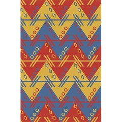 Aztec traditional ethnic pattern 5.5  x 8.5  Notebooks
